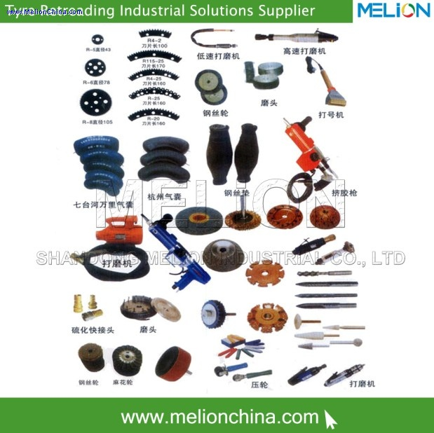 Tire Retreading Spare Parts &tools