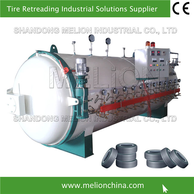 12 Tyres Retreading Curing Chamber