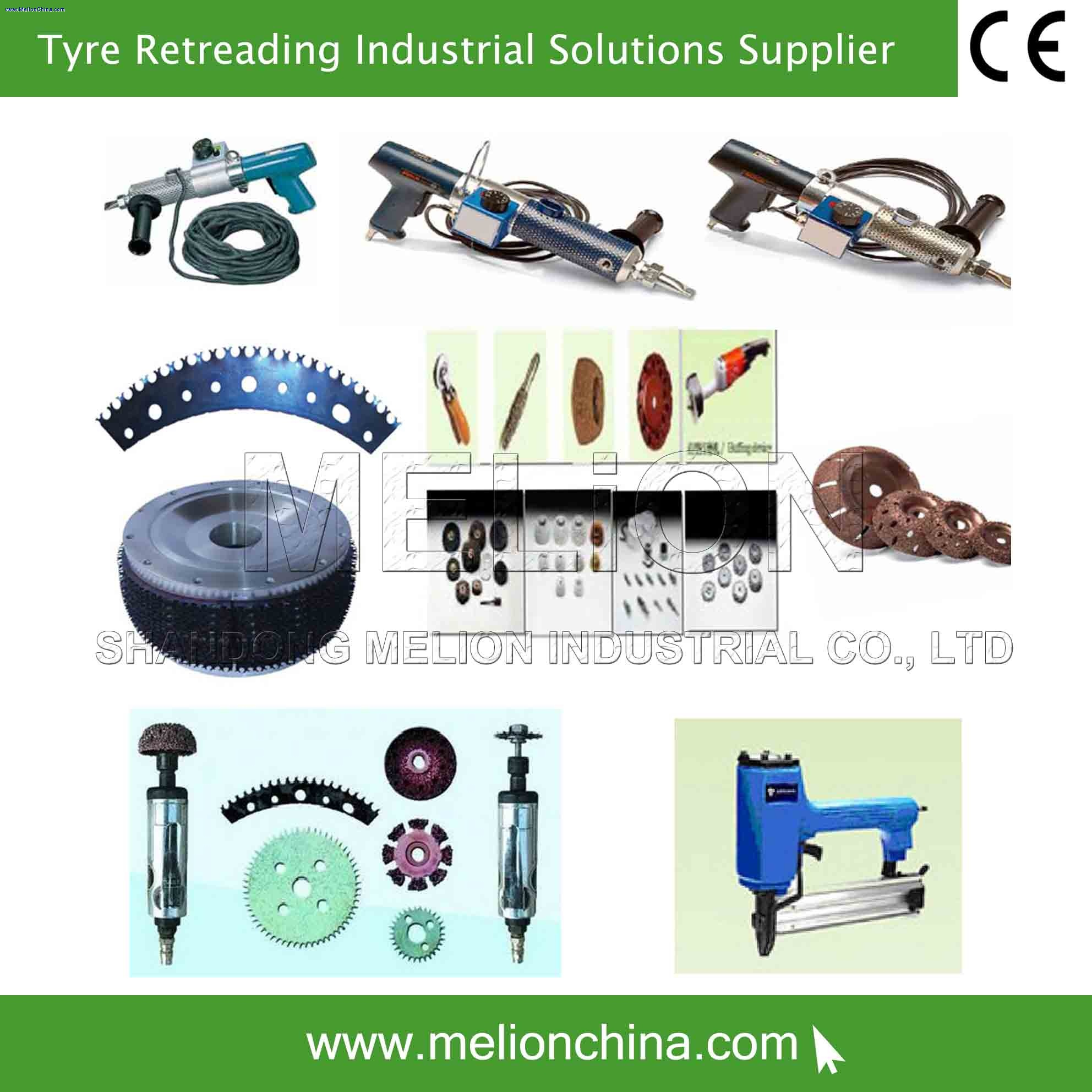 tire retreading tools