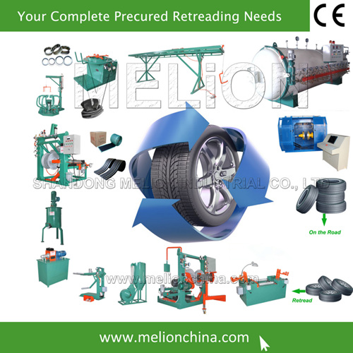 Your Complete Set of Tire Retreading Equipment